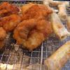 幸運な病のレシピ( 671 ) 朝:鳥かつ、チーズとウインナの新妻揚げ、鮭、味噌汁の仕立直し、煮しめ仕立直し