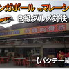 シンガポール vs マレーシア はたしてどっちが美味いの??伝統のB級グルメ対決!【バクテ―編】「新峰肉骨茶」