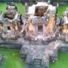 タイ東北部イサーン地方にあるプーアイノイ遺跡〜空撮 TOYドローン タイ王国 クメール遺跡 2016