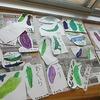2年生:野菜の絵を描きました