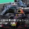 【ネタバレアリ】F1 2019 ジョニー・ウォーカー・ベルギーGP決勝を観た話。
