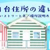 日本と台湾 住所の違い