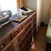 ダブルベッドに続く 大型家具の断捨離を決断!