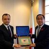 駐日ウズベキスタン大使の表敬訪問を受ける