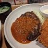 カニコロ&ハンバーグ定食