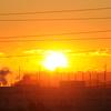 夜明け前の雲フェチ~その10『深紅の地平線そして…』