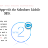 SFDC:Building an Ionic2 App with the Salesforce Mobile SDKを試してみました