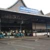 ラオス中部の街「ターケーク」の旅の起点 ‐ ターケーク4kmバスターミナル -(ターケーク、ラオス)