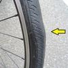 タイヤが歪んだ!?~KENDA君、4700kmにてあえなくリタイヤ
