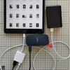 Androidスマホ、iPadに、SSDを繋ぐ。PCの写真を共有。アロケーションユニットサイズにも注意。