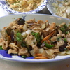 幸運な病のレシピ( 1749 )夜:カツオタタキ(ポン酢ニンニク)、ナス味噌炒め(豚バラ紫蘇味噌)、汁