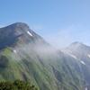 鹿島槍ヶ岳&爺ヶ岳登山(登り)