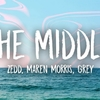 【和訳/歌詞】The Middle/Zedd, Maren Morris, Grey
