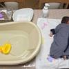 1人でも簡単!負担が少ない沐浴の方法「外洗い」とは?手順を写真付きで紹介!