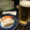 もり一で回転寿司(田端)