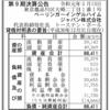 ベーリンガー・インゲルハイムジャパン株式会社 第9期決算公告