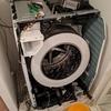 ドラム式洗濯機を分解・お掃除「丸裸になった洗濯機」