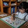 小学校入学に向けて活躍している学習グッズたち。