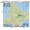 2016年09月26日 22時03分 上川地方中部でM3.6の地震