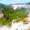 世界三大瀑布の1つ、イグアスの滝へ