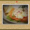 「林檎と鶏ハムのオープンサンドイッチ」の思ひで…