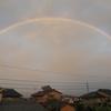 富山の虹も~~~