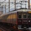 阪急、阪神競馬場70周年記念ヘッドマークを撮る。