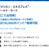 アメックス・ゴールドのキャンペーン2019年!1年目年会費無料か3万ポイントのもらい方まとめ!