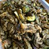 豚肉となす ズッキーニの黒ごまソテー