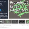 【新作無料アセット】部屋や廊下、お宝ルームなどのPrefabをプロシージャルに接続してダンジョンをジェネレート!3Dや2Dのプラットフォーマー、ローグライク、FPS等のレベル作成に役立つエディタ「Procedural Level Generator」