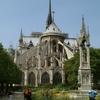ステンドグラスと尖塔が美しいパリ・ノートルダム大聖堂❗️焼失からの1日も早い復活を‼️