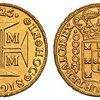 ブラジル1725年20000レイス金貨NGC MS61