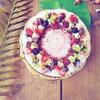雑誌の撮影*クリスマスケーキ