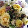お友達のご結婚のお祝いに差し上げる花束(ブーケ)