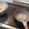幸運な病のレシピ( 101 ) 小女子のチヂミ、鳥皮パイ皿焼き、三色汁