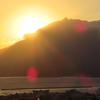 「ぐるっと九州きっぷ」3日間の旅 (6)鹿児島の朝 桜島からの日の出