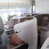 シンガポール航空 SQ622 シンガポール→関西(大阪)ビジネスクラス搭乗記