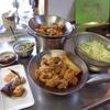 幸運な病のレシピ( 1240 )朝:鶏のから揚げ、鱒、味噌汁