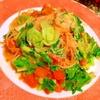 ずぼら〜の為の、たね菜のスイチリトマトパスタ
