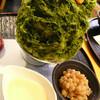 今年も3日間限定でした!:しもきた茶苑大山「ホワイトデーかき氷」