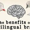 バイリンガルになると、脳が健康で複雑になる