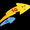 5Gの意味(1G〜4Gの意味)を超短く説明したよ(=゚ω゚)ノ