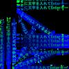 文字の背景の塗りつぶしの形に楕円を追加 Pixtack紫陽花