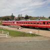 岩見沢郊外 ― 赤電車との遭遇 ―