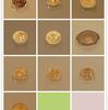 西安大唐西市博物館(その41:3階シルクロード硬貨展示ホール_ビザンチン帝国)(2018年4月15日:コイン裏面写真追加)