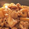 【今日の料理】豚肉とれんこんの炒め煮