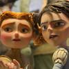 映画:ボックストロール。相変わらずの絵作り人形アニメーション。