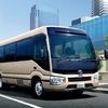 ● バスにも衝突回避支援パッケージ「Toyota Safety Sense」を! トヨタ「コースター」を一部改良