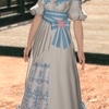 スプリングドレスでミラプリ*ˊᵕˋ)੭🌼