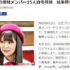 AKB48グループのメンバー柏木由紀さんら15人濃厚接触者に認定!新型コロナウイルス感染か?